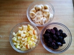 Bananas, Apples, Blackberries