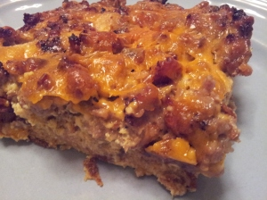 Sausage and Egg Breakfast Casserole
