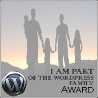 I Am Part of the Wordpress Family