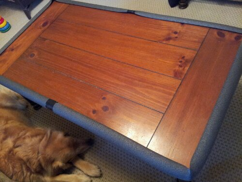 We needed to do something to help protect little man from hitting his head  too hard on our coffee table. I understand that kids hit their heads and  they ... - DIY Baby Proofing From The Hardware Store My Mom Thoughts