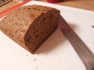 Zucchini Bread Cut
